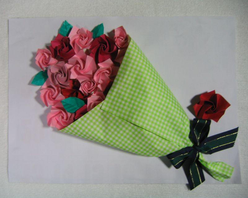 折り紙 折り紙 おひな様 : おひな様: 雪月花